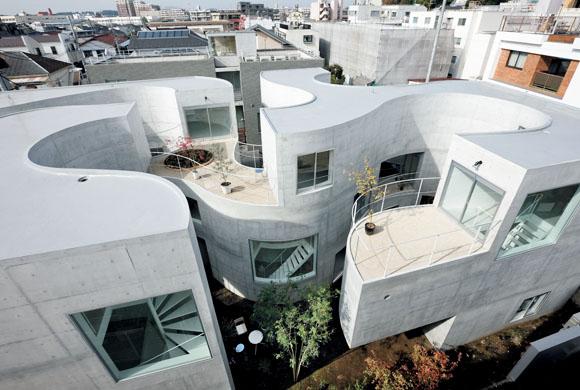 Residential yokohama japan nina lundager jensen for Apartment japan design